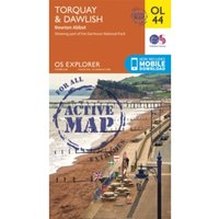 Torquay & Dawlish, Newton Abbot by Ordnance Survey (Sheet map, folded, 2015)