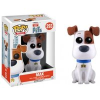 Max (Secret Life Of Pets) Limited Edition Flocked Funko Pop! Vinyl Figure