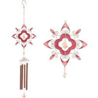 Red Abstract Windchime