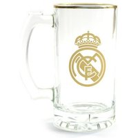 Real Madrid Foil Stein Pint Glass