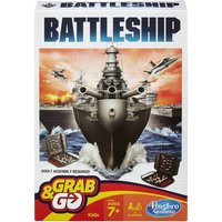 Battleship Grab and Go Travel Board Game