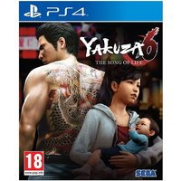 Yakuza 6 The Song Of Life Launch Edition PS4 Game