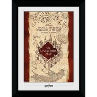 Harry Potter Marauders Map Collector Print