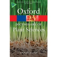 A Dictionary of Plant Sciences by Michael Allaby (Paperback, 2012)