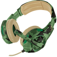 GXT 310D Radius Gaming Headset Jungle Camo Multi-Platform