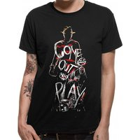 Nightmare On Elm Street - Come Out To Play Men's Medium T-Shirt - Black
