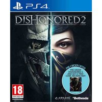 Dishonored 2 PS4 Game (Imperial Assassin's DLC) + COWL Neckerchief