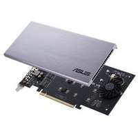 Asus Hyper M.2 x16 Card V2, Connect 4 x PCIe 3.0 M.2 SSDs through the PCIe x8 or x16 slot