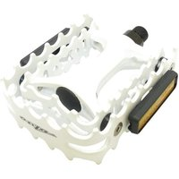 Onza VP458 Trials Pedals White 9/16