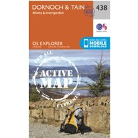 Dornoch and Tain by Ordnance Survey (Sheet map, folded, 2015)