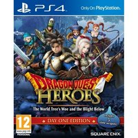 (Damaged Packaging) Dragon Quest Heroes The World Tree's Woe and the Blight Below Day One Edition PS4 Game