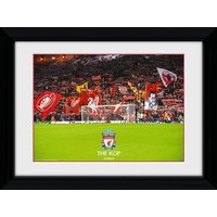 Liverpool The Kop Framed 16x12 Photographic Print