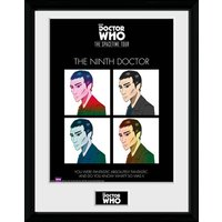 Doctor Who Spacetime Tour 9th Doctor Framed Collector Print