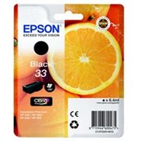 Epson C13T33314012 (33) Ink cartridge black, 250 pages, 6ml