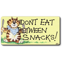 Don't Eat Between Snacks Smiley Magnet Pack Of 12