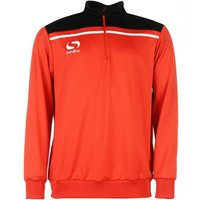 Sondico Precision Quarter Zip Sweatshirt Adult XX Large Red/Black