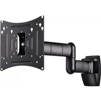 Hama FULLMOTION TV Wall Bracket 3 stars L 107 cm (42) 2 arms (Black)