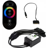 Game Max RGB RF Remote Control & Receiver With Touch Control Sata Connector