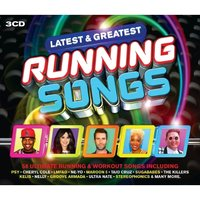 Various Artists - Latest & Greatest Running Songs CD