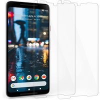 Google Pixel 2 XL Tempered Glass Screen Protector - Twin Pack