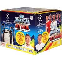 UCL Match Attax 2017/18 UEFA Champions League Trading Card Game - 50 Packs