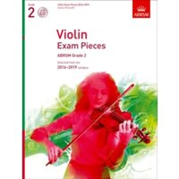 Violin Exam Pieces 2016-2019, ABRSM Grade 2, Score, Part & CD : Selected from the 2016-2019 syllabus
