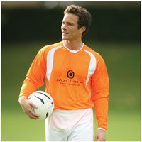 PT Bernabeu II Shirt 34-36 inch Dutch Orange/White