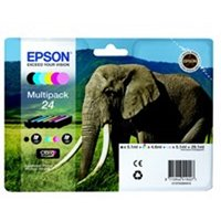 Epson C13T24284011 (24) Ink cartridge multi pack, 360 pages, 1x240pg 5x360pg, 1x5.1ml 5x4.6ml, P