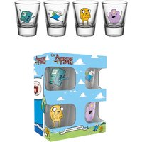 Adventure Time Characters Shot Glasses