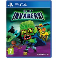 8-Bit Invaders PS4 Game