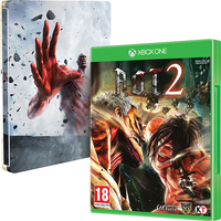 Attack On Titan 2 (A.O.T) Wings Of Freedom Xbox One Game + Steelbook