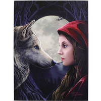 Large Moonstruck Canvas Picture by Lisa Parker