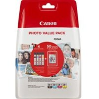 Canon 2106C005 (581) Ink cartridge multi pack, 1505/256/237/257 pg, 6ml, Pack qty 4