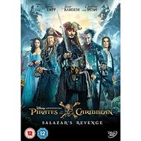 Pirates of the Caribbean: Salazar's Revenge DVD