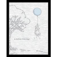 Winnie The Pooh - Bother Free Framed 30 x 40cm Print