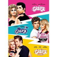 Grease 40th Anniversary Triple: Grease/ Grease 2/ Grease Live/ DVD