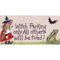 Witch Parking Only Pack Of 12