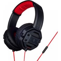 JVC HAMR60XB Xtreme Xplosives On Ear Headphones with Remote & Mic Black