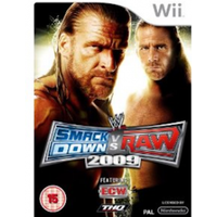 WWE Smackdown vs Raw 2009 Game