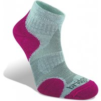 Bridgedale Coolfusion Multisport Women's Sock Grey and Raspberry Large