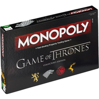 Game Of Thrones Monopoly Collector's Edition Board Game - Damaged Packaging