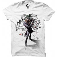 Batman - Joker Insane Men's X-Large T-Shirt - White
