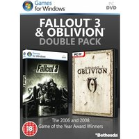 Fallout 3 & The Elder Scrolls IV Oblivion Double Pack Game