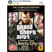 Ex-Display Grand Theft Auto IV 4 GTA Complete Edition Game