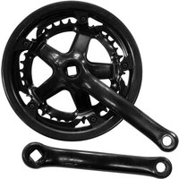 ETC Chainset Steel 40/48 Teeth 170mm Black With Guard
