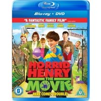 Horrid Henry The Movie Double Play Blu-ray and DVD