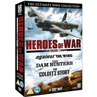 Heroes of War Vol 1 (The Dambusters   Against The Wind   Colditz Story)