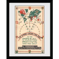 Transport For London Empire Under One Roof Framed Collector Print