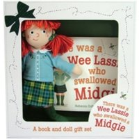 There Was a Wee Lassie Who Swallowed a Midgie : Book and Doll Gift Set