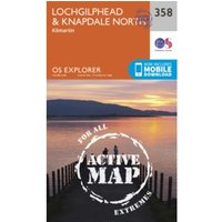 Lochgilphead and Knapdale North by Ordnance Survey (Sheet map, folded, 2015)